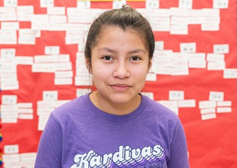 LTE student competes at Spanish spelling bee