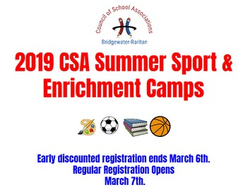 CSA Summer Camp Registration is Open