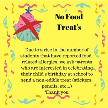 No Birthday Edible Treats