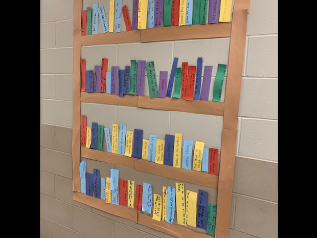 2M is filling up their bookshelf. Way to go!!!!