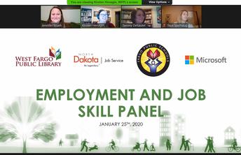 Job Skills Panel