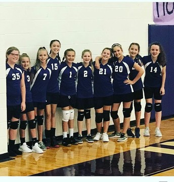 7th grade Lady Indians