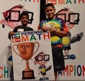 3rd Place Individual Winner - Michael Mikati