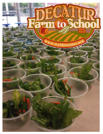 Decatur Farm to School Fall Taste Tests: October 24- 25, 2019