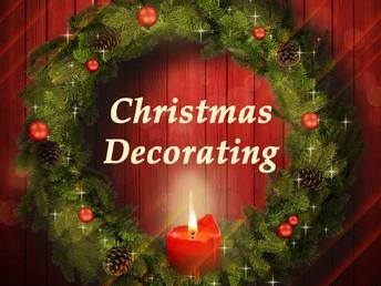 Christmas Decorating November 28