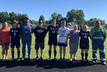 Soccer Seniors and Parents Honored