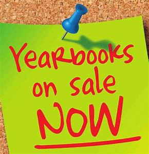Yearbooks on Sale until Friday, May 8