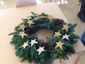 The Kindergarten Wreath.