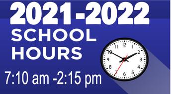 2021-2022  Schedule