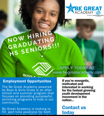 Boys and Girls Club of the Midlands: Be Great Academy
