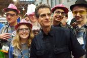 Tachyons meeting Dean Kamen