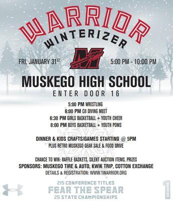 WARRIOR WINTERIZER ~ Tomorrow Night