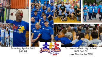 Joining Hands for Autism at St. Louis Catholic is April 6