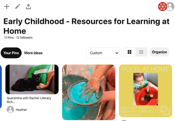 Early Childhood - Resources for Learning at Home