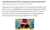Hop on the Computer Science Train