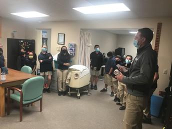 Career Day at UMH Rehabilitation Center 3/24/2021