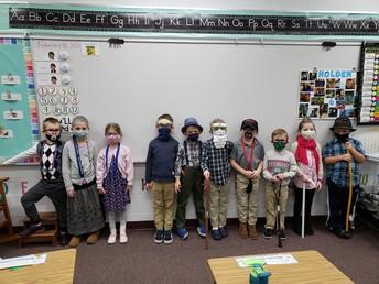 Our 100 Year Olds in Kindergarten