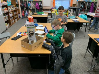3rd Grade Using the Design Process Through Toy Research and Invention