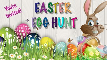 GT Kids Easter Egg Hunt: April 1st 1 PM - 1:30 PM