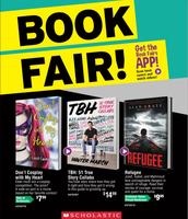 Middle School Book Fair Flyer