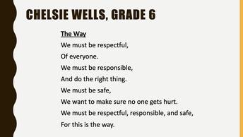 Middle School Meme & Poetry Contest
