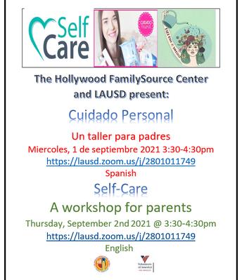 Parent Self-Care Workshop