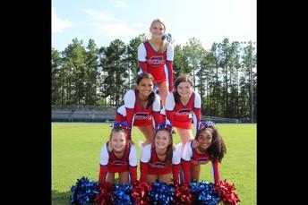2019 Cavalier Senior Cheerleaders