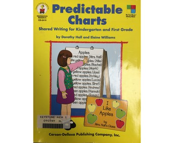 Predictable Charts: Shared Writing for K-1 (Book 90749)
