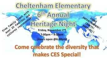 CE Heritage Night
