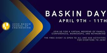 April 9 @3pm - April 11 @6pm, UC Santa Cruz Baskin Day 2021 - Baskin School of Engineering