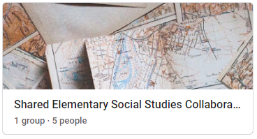Social Studies Collaboration