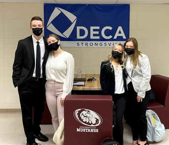 71 SHS STUDENTS QUALIFY FOR DECA STATE COMPETITION