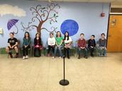 GCS Spelling Bee Contestants