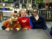 Jess, Cara, and Tori