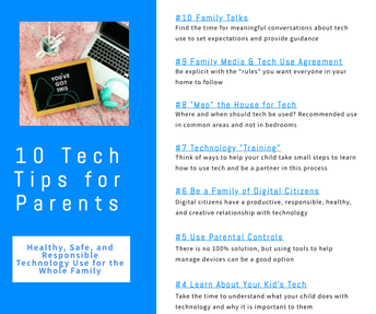 10 Tech Tips for Parents
