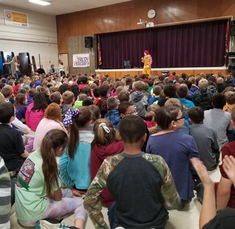 Ronald McDonald Makes a visit to Zitzman Elementary