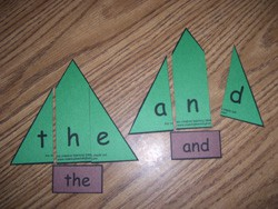 Christmas Tree Word Puzzles