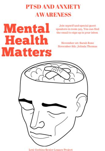 Mark Your Calendars: PTSD and Anxiety Awareness
