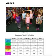 Mindful Classrooms--Week 9