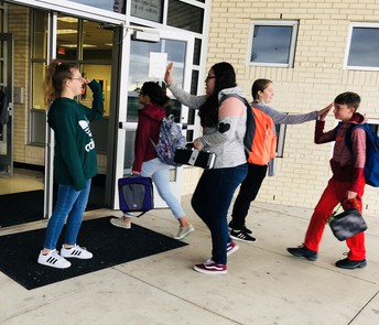 High-Five Fridays at SMS!