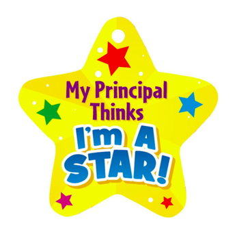 Thursday, 1/25 Principal Pride Awards 1st & 2nd-Grade
