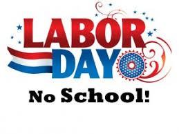 Labor Day ~ September 2, 2019