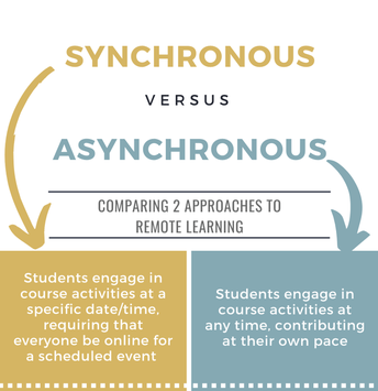 Asynchronous and Synchronous Learning Opportunities