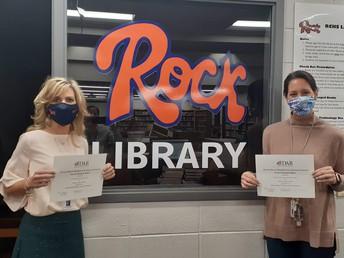 RCS Staff Members Receive Literacy Awards from DAR