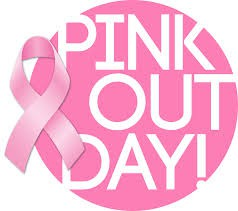Pink out day & Muffins with Mom this Friday, October 18th!