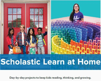 Scholastic Learn at Home Materials