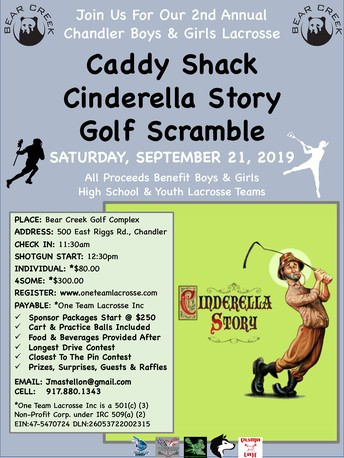 Save the Date for the 2nd Annual Caddy Shack Scramble!