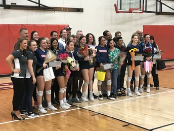 Senior Night - Volleyball