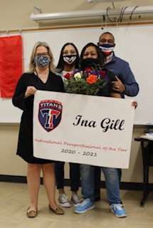 Instructional Paraprofessional of the Year - Ina Gill