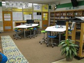 6 collaborative work stations for class or small group work!